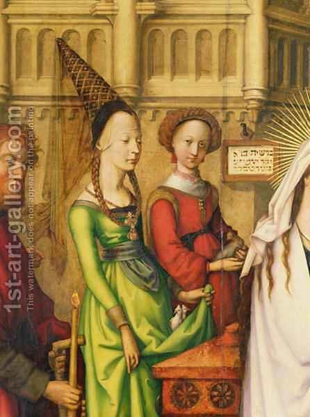 Detail of The Depiction of Christ in the Temple by Hans, The Elder Holbein - Reproduction Oil Painting