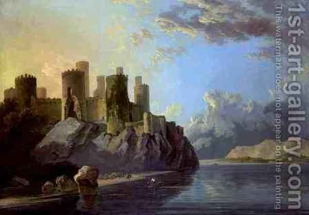 Conway Castle by William Hodges - Reproduction Oil Painting