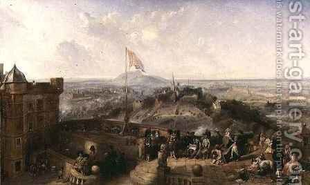 Edinburgh Old and New by David Octavius Hill - Reproduction Oil Painting