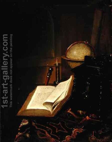 Still life by Jacob van der Heyden - Reproduction Oil Painting
