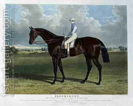 Bloomsbury the Winner of the Derby Stakes at Epsom by (after) Herring Snr, John Frederick - Reproduction Oil Painting