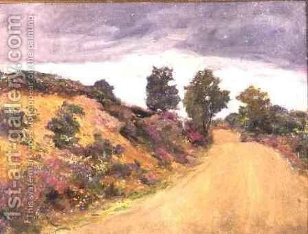Road to Hindhead by Sir Hubert von Herkomer - Reproduction Oil Painting