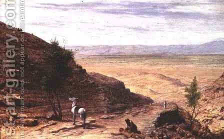 The Road Between Jerusalem and Jericho by Sir Hubert von Herkomer - Reproduction Oil Painting