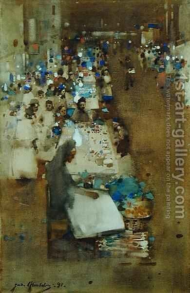 Whitechapel by James Watterston Herald - Reproduction Oil Painting