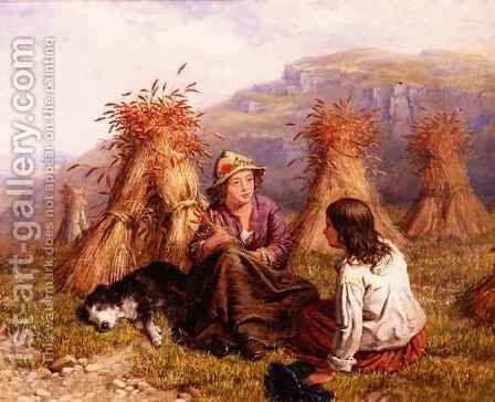 The Gleaners by Isaac Henzell - Reproduction Oil Painting