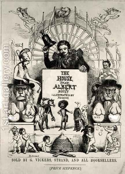 Titlepage from The House that Albert Built by Archibald Henning - Reproduction Oil Painting