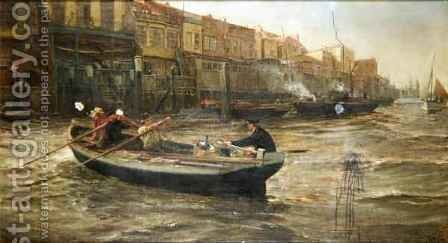 Home at Last 2 by Charles Napier Hemy - Reproduction Oil Painting