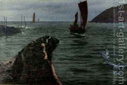 The Way In by Charles Napier Hemy - Reproduction Oil Painting