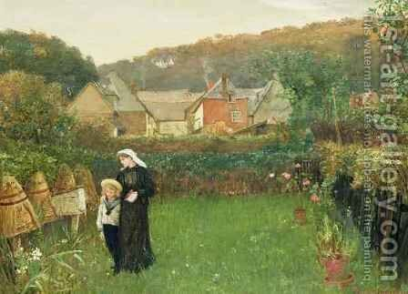 The Widow by Charles Napier Hemy - Reproduction Oil Painting