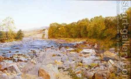 Wall Mill North Tyne by Charles Napier Hemy - Reproduction Oil Painting