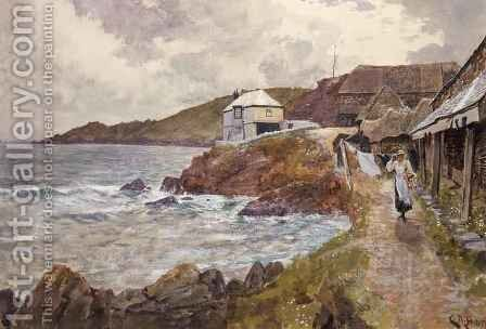 Coast Scene by Charles Napier Hemy - Reproduction Oil Painting