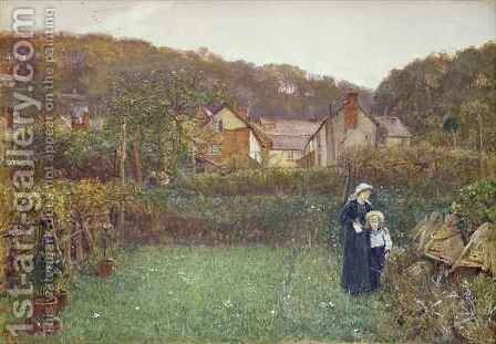 Telling the Bees by Charles Napier Hemy - Reproduction Oil Painting