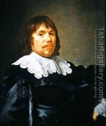 Portrait of Roelof Bicker by Bartholomeus Van Der Helst - Reproduction Oil Painting