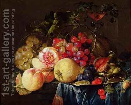 Still Life 4 by Cornelis De Heem - Reproduction Oil Painting