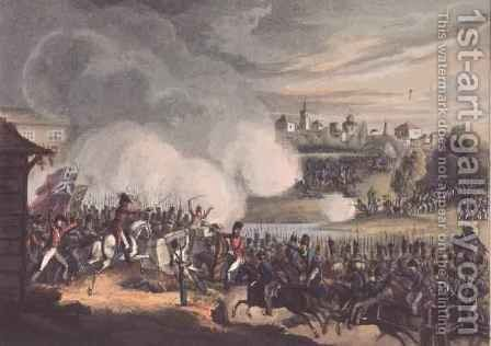 Battle of Seville by (after) Heath, William - Reproduction Oil Painting
