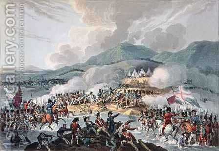 Battle of the Bidassoa by (after) Heath, William - Reproduction Oil Painting
