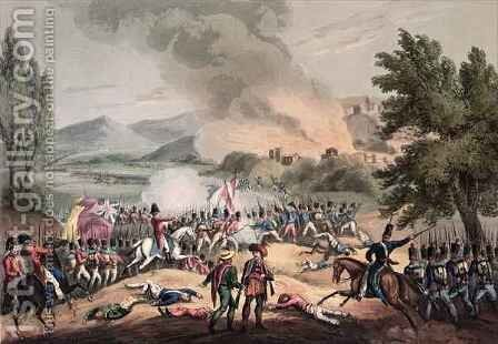 Battle of Pombal by (after) Heath, William - Reproduction Oil Painting