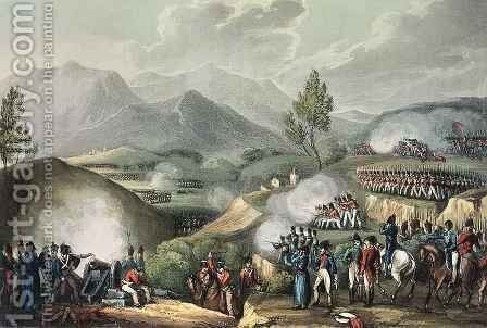 Battle of Salamonda by (after) Heath, William - Reproduction Oil Painting