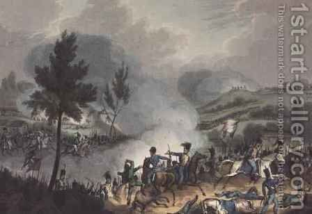 Battle of Grigo by (after) Heath, William - Reproduction Oil Painting