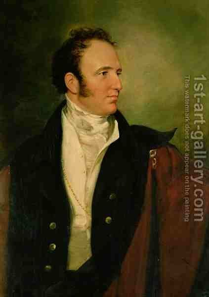 George 2nd Earl of Bradford 1780-1865 by Sir George Hayter - Reproduction Oil Painting