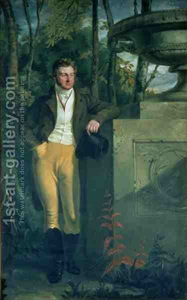 John Charles 3rd Earl Spencer by Sir George Hayter - Reproduction Oil Painting