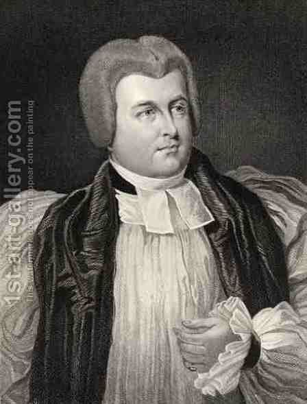 Robert James Carr Bishop of Chichester and Worcester by Sir George Hayter - Reproduction Oil Painting