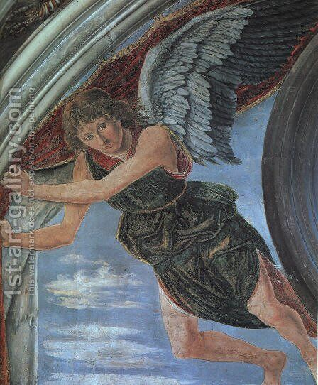 Angel by Antonio Del Pollaiuolo - Reproduction Oil Painting