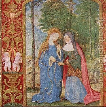 Book of Hours by - Unknown Painter - Reproduction Oil Painting