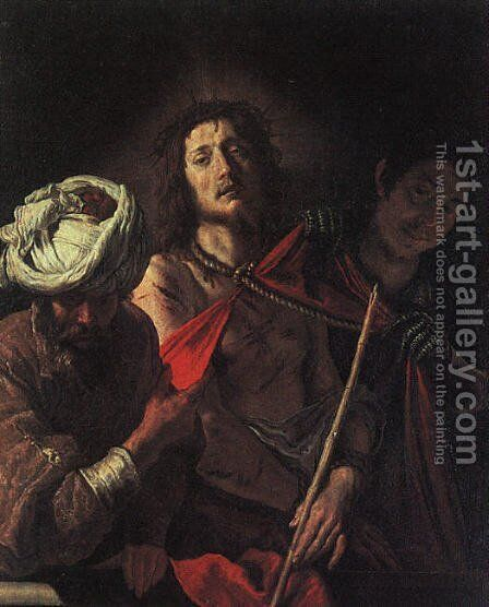 Ecce Homo by Domenico Feti - Reproduction Oil Painting