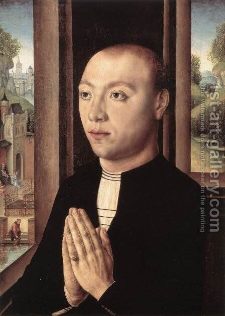 Portrait of Ludovico Portinari by Master of the Legend of St. Ursula - Reproduction Oil Painting