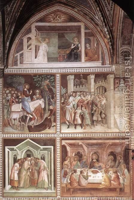 Scenes from the New Testament by Barna Da Siena - Reproduction Oil Painting