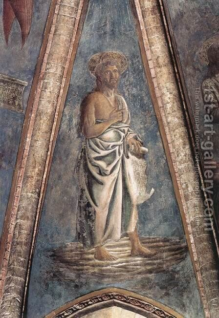 St John the Baptist by Andrea Del Castagno - Reproduction Oil Painting