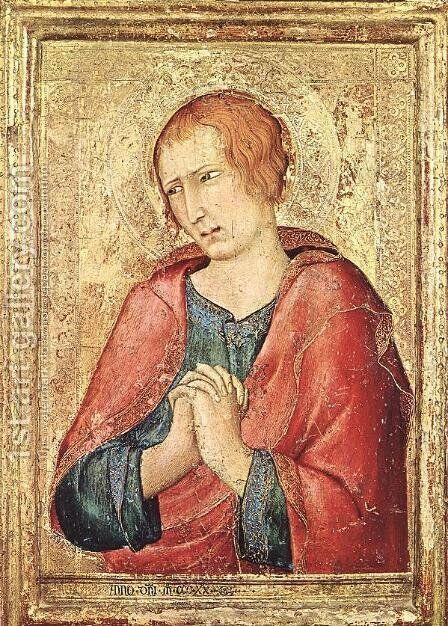 St John the Evangelist by Simone Martini - Reproduction Oil Painting