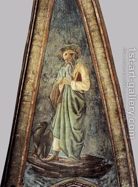 St John the Evangelist by Andrea Del Castagno - Reproduction Oil Painting