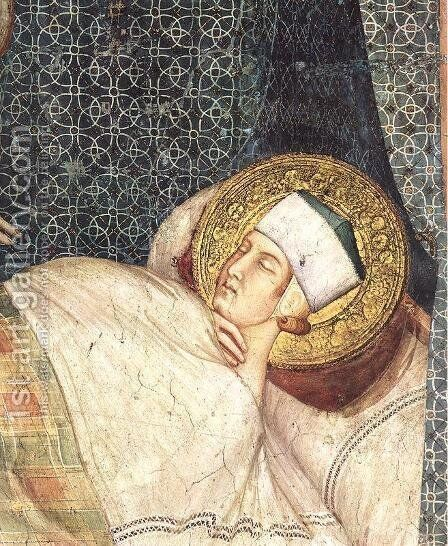 The Dream of St. Martin by Simone Martini - Reproduction Oil Painting