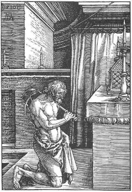 The Penitent by Albrecht Durer - Reproduction Oil Painting