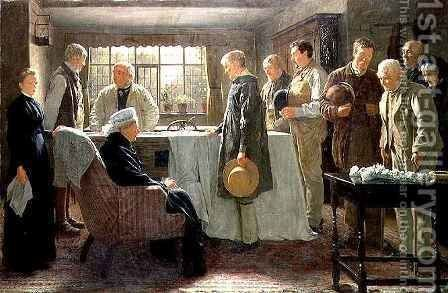 The Old Master by James Hayllar - Reproduction Oil Painting