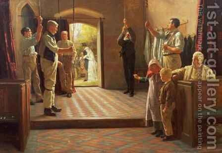 Wedding Bells by James Hayllar - Reproduction Oil Painting