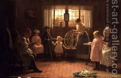 May Day by James Hayllar - Reproduction Oil Painting