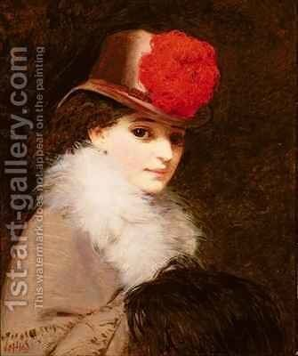 The Coquette by James Hayllar - Reproduction Oil Painting