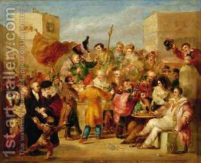 The Mock Election by Benjamin Robert Haydon - Reproduction Oil Painting