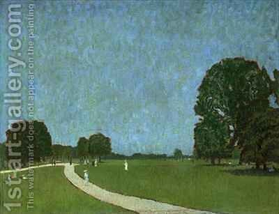 An Evening Scene in Green Park by James Hamilton Hay - Reproduction Oil Painting