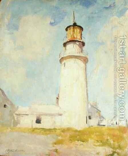 Highland Light by Charles Webster Hawthorne - Reproduction Oil Painting