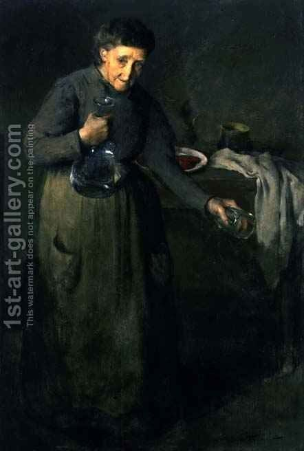 La Gigia by Charles Webster Hawthorne - Reproduction Oil Painting