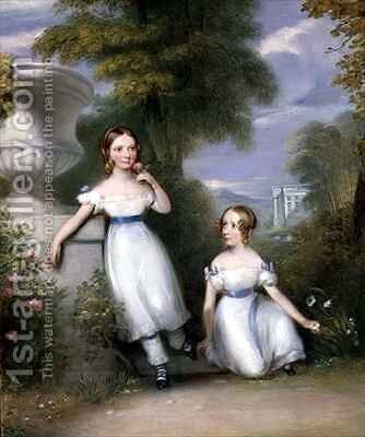 Children of John Blake by J.P. Haverty - Reproduction Oil Painting