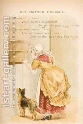 Old Mother Hubbard from Old Mother Gooses Rhymes and Tales by Constance Haslewood - Reproduction Oil Painting