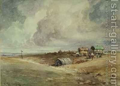 Gypsies Camping by Charles Harrington - Reproduction Oil Painting
