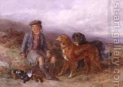 The Young Ghillie by James Hardy Jnr - Reproduction Oil Painting