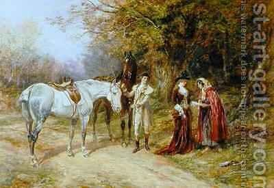 The Fortune Teller by Heywood Hardy - Reproduction Oil Painting