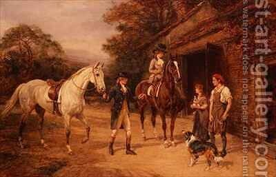 The Cast Shoe by Heywood Hardy - Reproduction Oil Painting
